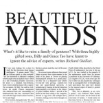 Beautiful Minds – Richard Guillat – The Weekend Australian Magazine