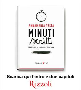 Scarica l'introduzione e due capitoli del libro Minuti scritti di Annamaria Testa
