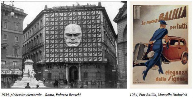 propaganda e pubblicità nel 1934
