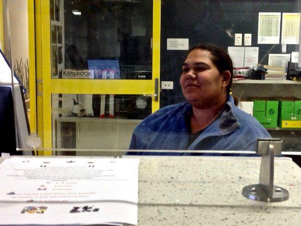 Clinic receptionist. Foto: Robby Leyden