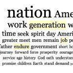Le parole-chiave dei presidenti USA