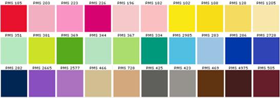 Pantone tutti i colori del mondo idee 58 nuovo e utile - Immagini pavone a colori ...