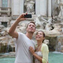 turismo, selfie del mondo