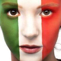 Territori da presidiare: bandiera Italia abbracci