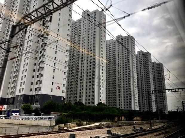 In treno verso Taiyuan e Pingyao