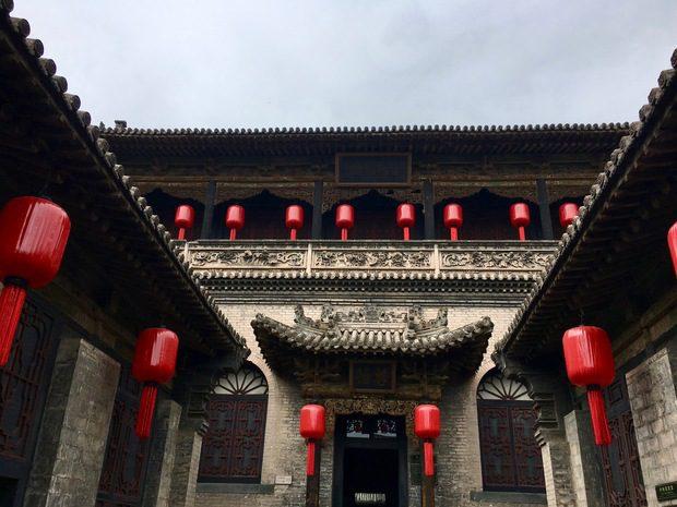 Il Qiao compound, sulla strada per Pingyao