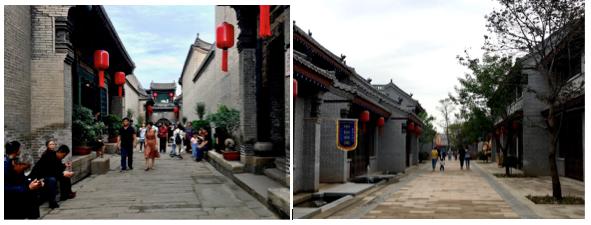 Il Qiao compound, ieri e oggi