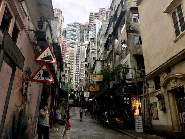 L'isola di Hong Kong