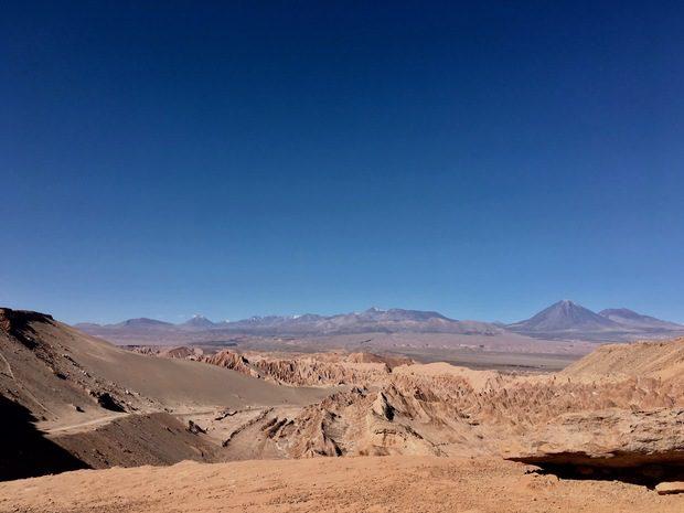Valle di Marte, Cile