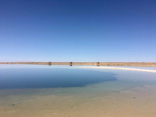 Laguna Cejar, Cile