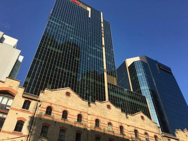 Grattacieli e vecchie costruzioni a Sydney