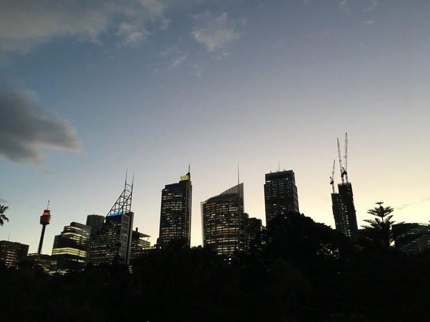 Sydney al tramonto
