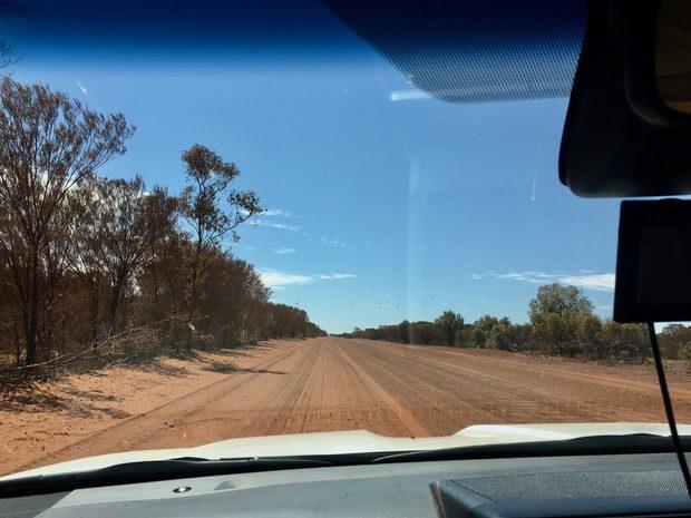 Da Uluru, lungo il merende Loop, Australia